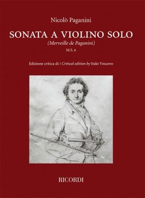Niccolò Paganini: Sonata a violino solo