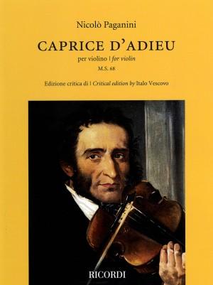 Niccolò Paganini: Caprice d'Adieu