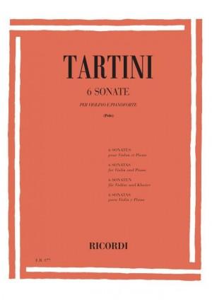 Tartini: 6 Sonatas