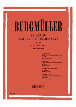 Burgmüller: 25 Easy Studies Op.100