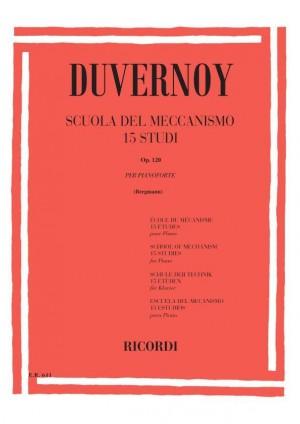 Duvernoy: Scuola del Meccanismo Op.120