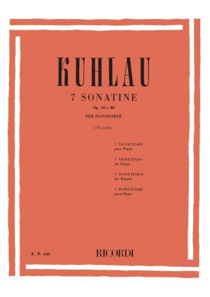 Friedrich Kuhlau: 7 Sonatine Op. 60, Op. 88