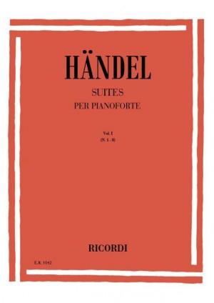 Handel: Suites Vol.1: No.1 - No.8
