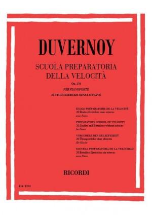 Duvernoy: Scuola preparatoria della Velocità Op.276