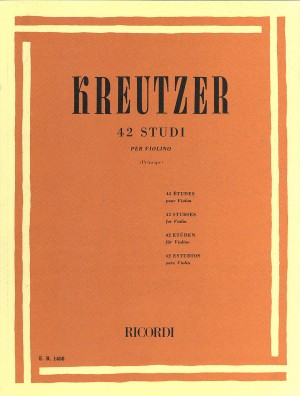 Kreutzer: 42 Studies (ed. R.Principe)