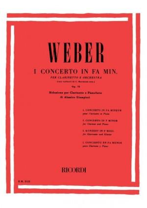 Weber: Concerto No.1, Op.73 in F minor (red. A.Giampieri)