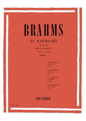 Brahms: 51 Exercises Vol.1: No.1 - No.25