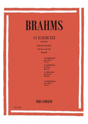 Brahms: 51 Exercises Vol.2: No.26 - No.51