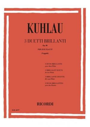 Kuhlau: 3 Duos Op.80 (rev. A.Veggetti)