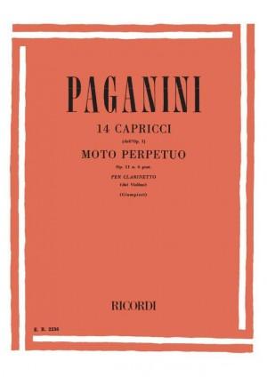 Paganini: Capricci e Moto perpetuo (arr. A.Giampieri)