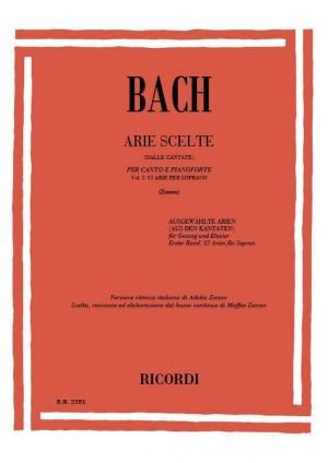 Bach: Arie scelte dalle Cantate Vol.1 (sop)