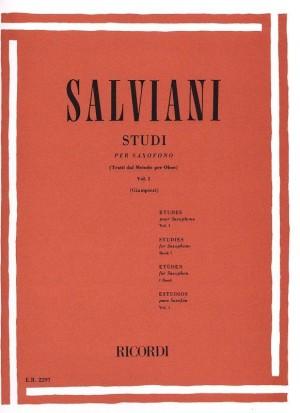 Salviani: Studies for Saxophone Vol.1