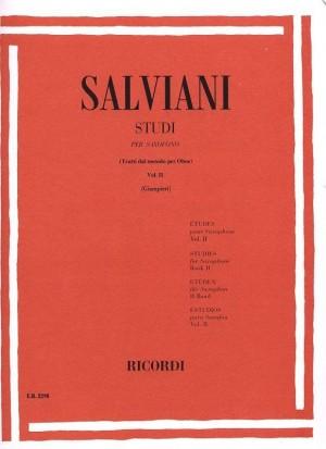 Salviani: Studies for Saxophone Vol.2