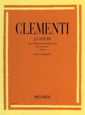 Clémenti: 23 Studi dal 'Gradus ad Parnassum'