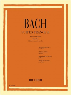 Bach: Suites francesi BWV812-817 (Senza Note in Calce)