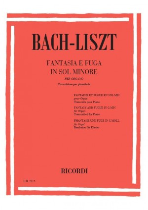 Bach: Fantasia & Fugue BWV542 in G minor