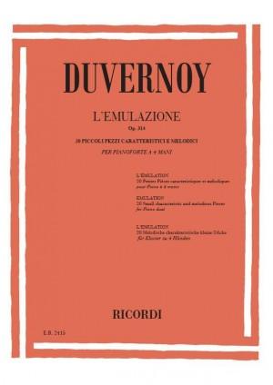 Duvernoy: L'Emulazione Op.314