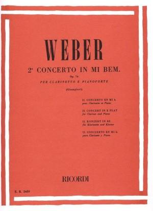 Weber: Concerto No.2, Op.74 in E flat major (red. A.Giamperi)