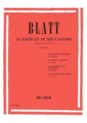 Blatt: 24 Esercizi di Meccanismo