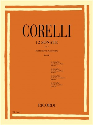 Corelli: 12 Sonatas Vol.2: No.7 - No.12
