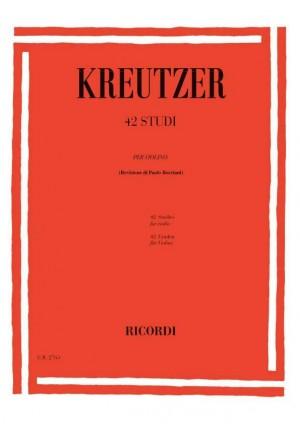 Kreutzer: 42 Studies (ed. P.Borciani)