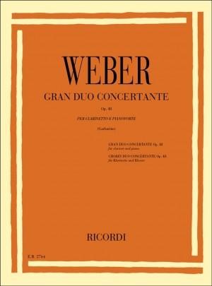 Weber: Grand Duo concertante Op.48 (ed. G.Garbarino)