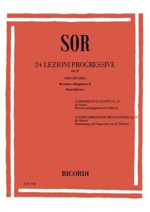 Sor: 24 Lezioni progressive Op.31