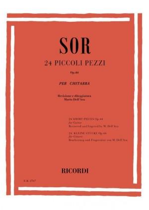 Sor: 24 Piccoli Pezzi Op.44
