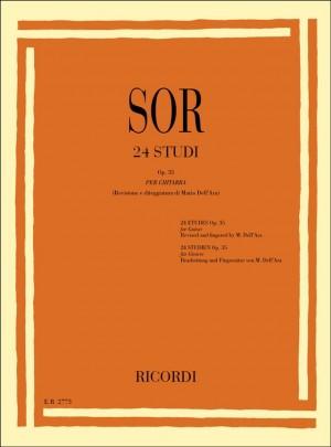 Sor: 24 Studi Op.35