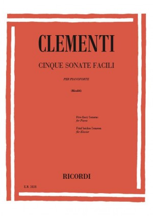 Clémenti: 5 Sonate facili
