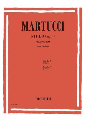 Martucci: Studio Op.47
