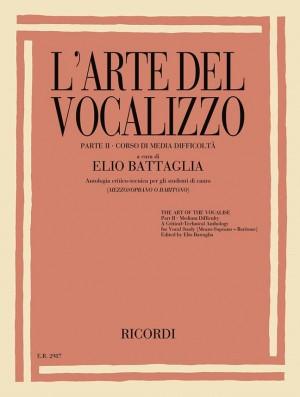 Elio Battaglia: L'Arte Del Vocalizzo (Mezzosop- Baritono) Parte II