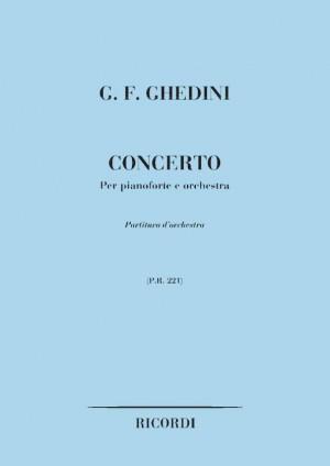 Ghedini: Concerto