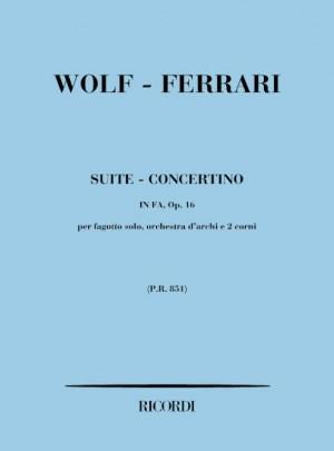 Wolf-Ferrari: Suite-Concertino Op.16 in F major