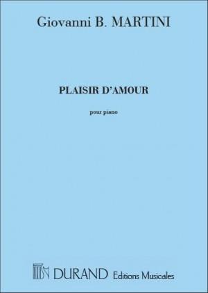 Martini: Plaisir d'Amour (mezzo/bar) Durand