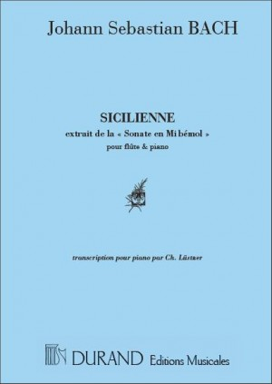 Bach: Sicilienne