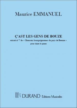 Maurice Emmanuel: C'Est Les Gens...Chor