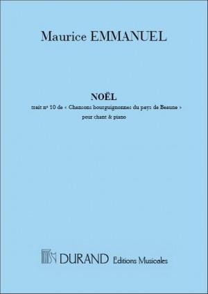 Maurice Emmanuel: Noel