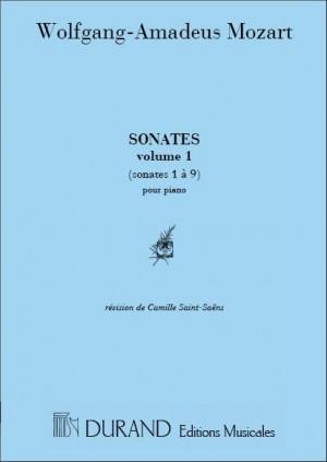Mozart: Sonatas Vol.1 (rev. C.Saint-Saëns)