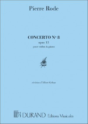 Rode: Concerto No.8, Op.13 in E minor (red. A.Géloso)