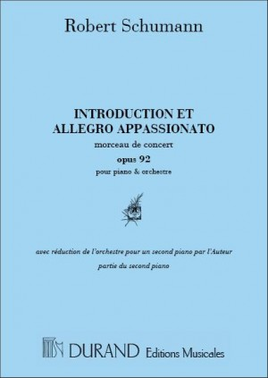 Schumann: Introduction et Allegro appassionato Op.92