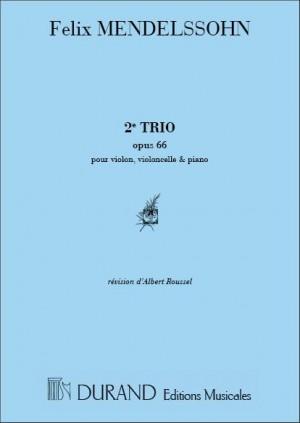 Mendelssohn: Trio No.2, Op.66 in C minor
