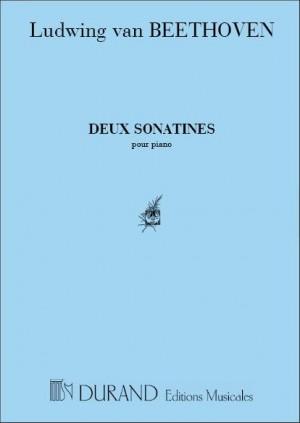 Beethoven: 2 Sonatinas (Durand)