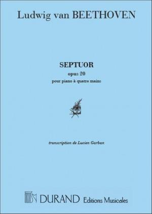 Ludwig van Beethoven: Septuor Op 20 4 Mains