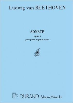 Beethoven: Sonata Op.6 (Durand)