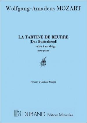 Wolfgang Amadeus Mozart: Tartine De Beurre Piano