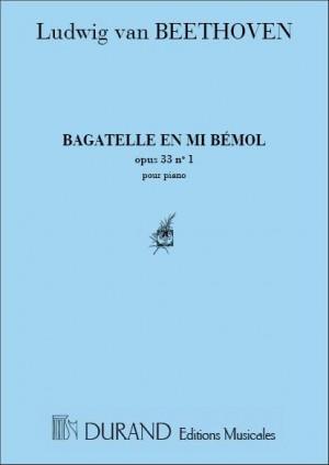Beethoven: Bagatelle Op.33, No.1 in B flat