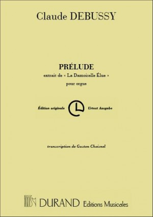 Claude Debussy: Prelude-Damoiselle Org