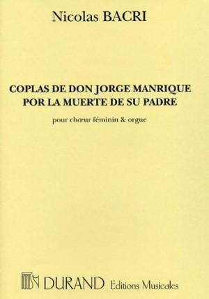 Bacri: Coplas de Don Jorge Manrique por la Muerte de su Padre