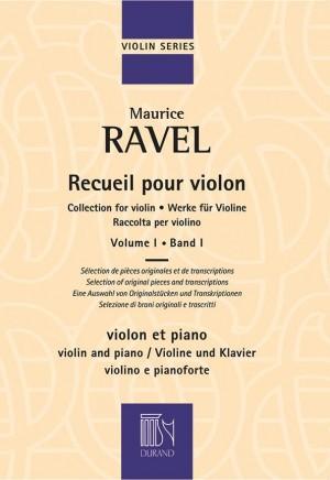Maurice Ravel: Recueil pour Violon Volume 1 Product Image